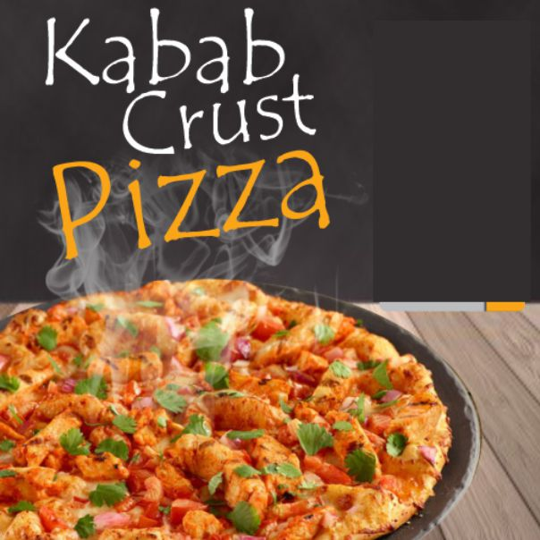 KABAB CRUST PIZZA